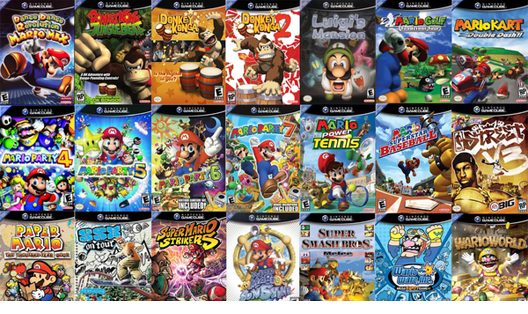 Top 10 Gamecube Games Fiction Madness